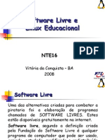 Linux Educacional cursoNTE16
