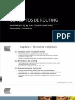 CONCEPTOS DE ROUTING