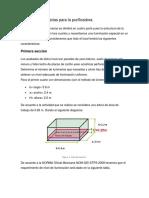 Cálculo de luminarias para la purificadora