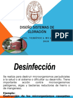 3. DISEÑO SISTEMAS DE CLORACIÓN2019