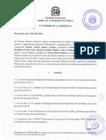TSE establece composición y decisión de los asuntos penales electorales