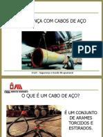 SEGURANÇA COM CABOS DE AÇO.ppt