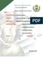 Filosofía Jurídica (Norma Jurídica y Lógica Jurídica).docx