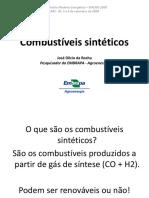 Combustíveis sintéticos-JDRocha