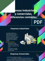 Empresas industriales y comerciales, diferencias contables
