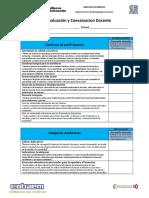 Autoevaluacion y Coevaluacion Docente 2019-2