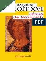 Ratzinger Joseph. - Jésus de Nazareth.pdf