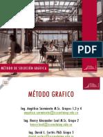 Metodo gráfico - Semana 2 - 2020 1