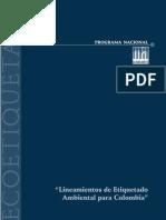 PROGRAMA NACIONAL DE ECOETIQUETADO