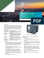 SIPROTEC 7SA87 Profile.pdf