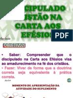 DISCIPULANDO NA CARTA AOS EFESIOS