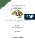 Introducción a la Ing. Civil ENSAYO