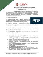 HOMOLOGACION DE TAXIMETROS 2011