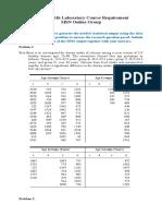 Statistics with Lab (MCC 202)