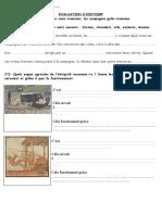 évaluation antiquité CM