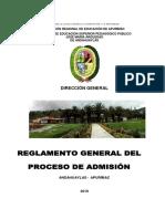 REGLAMENTO DE ADMISION IESPP JMA 2020