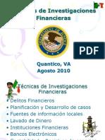 Técnicas de Investigaciones Financieras México