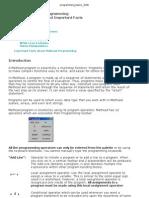 Programming Basics 2006