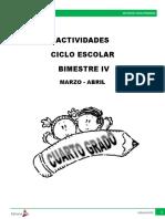 4TO. GRADO 2016-2017. ANEXO EDITORIAL MD BLOQUE 4