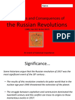 Revolution in Russia