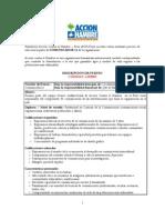 TDR Comunicador/a