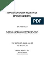 RECAPITALIZATION ROADMAP
