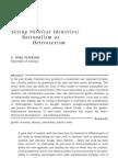 Sexing Political Identities-Nationalism as Hetero Sexism