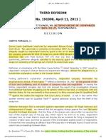 Lopez v. Alturas Group of Companies, G.R. No. 191008, 11 April 2011