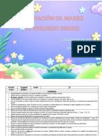 Planeacion de marzo - 2do Grado 2019 - 2020.docx