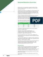 Detuned Reactors & its selection