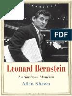 Leonard Bernstein_ An American Musician by Allen Shawn [Dr.Soc]