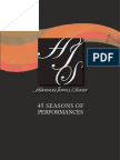 Harriman-Jewell Series | 45 Seasons of Performances