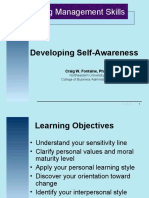Developing Self Awareness PPT