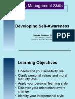 Developing Self Awareness PPT