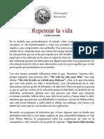 Carlos Acevedo - Repensar La Vida