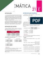 MATRIZES - Matemática 6 - Bernoulli - Coleção Estudo