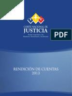 Rendicion Cuentas 2013