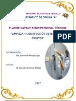 capacitacion personal tecnico