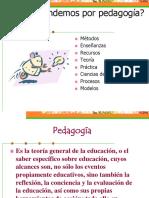 2 Que Entendemos Por Pedagogia Catequista