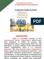ILO and tripartite bodies in India