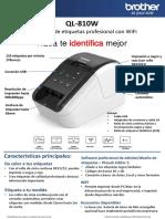 ficha-tecnica-impresora-de-etiquetas-brother-ql-810w
