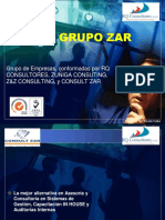 broshure  - GRUPO ZAR