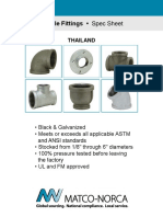 150lb Malleable Fittings - Thailand