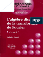 Gabriel Peyré - L'algèbre discrète de la transformée de Fourier _ Niveau M1-Ellipses Marketing (2004).pdf