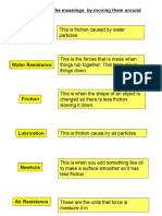 1G Friction Worksheets