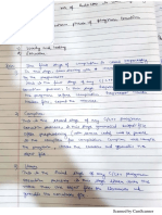 various phases of execution notes