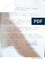 Concept of geometric notes