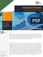 - Global MICE Industry Market, 2018-2025