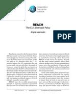 Angela Logomasini - REACH EU Chemical Policy