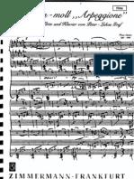 Partituras - Schubert - Sonata Arpeggione (Parte Flauta)